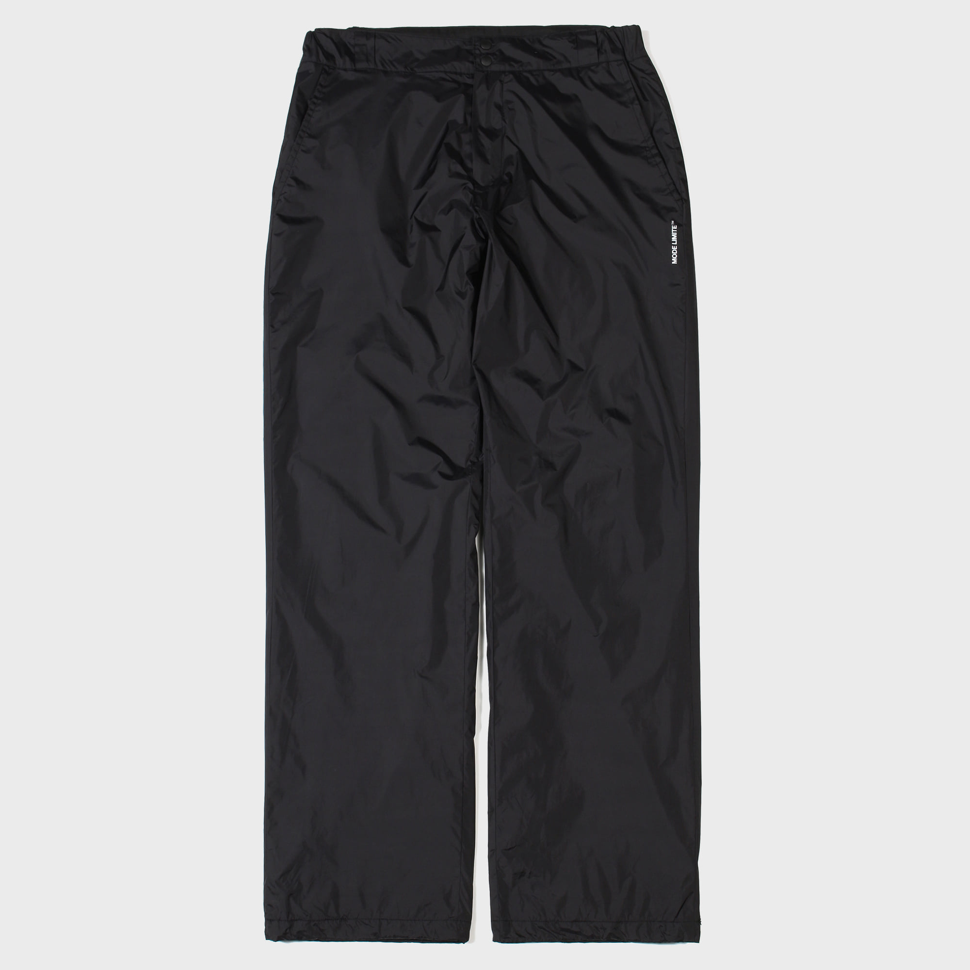 Nylon String Pants Black