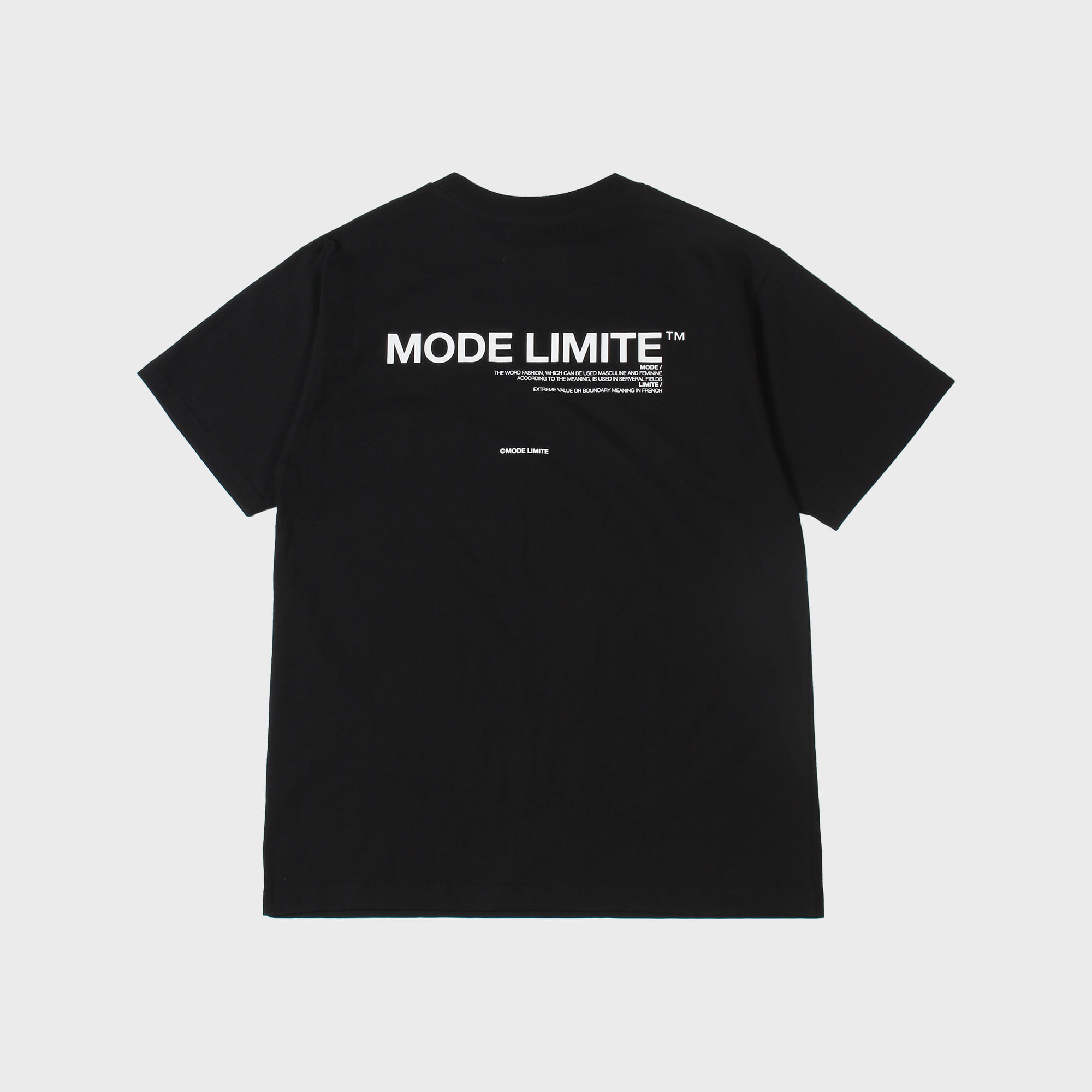 Mle Logo Pocket 1/2 T Black