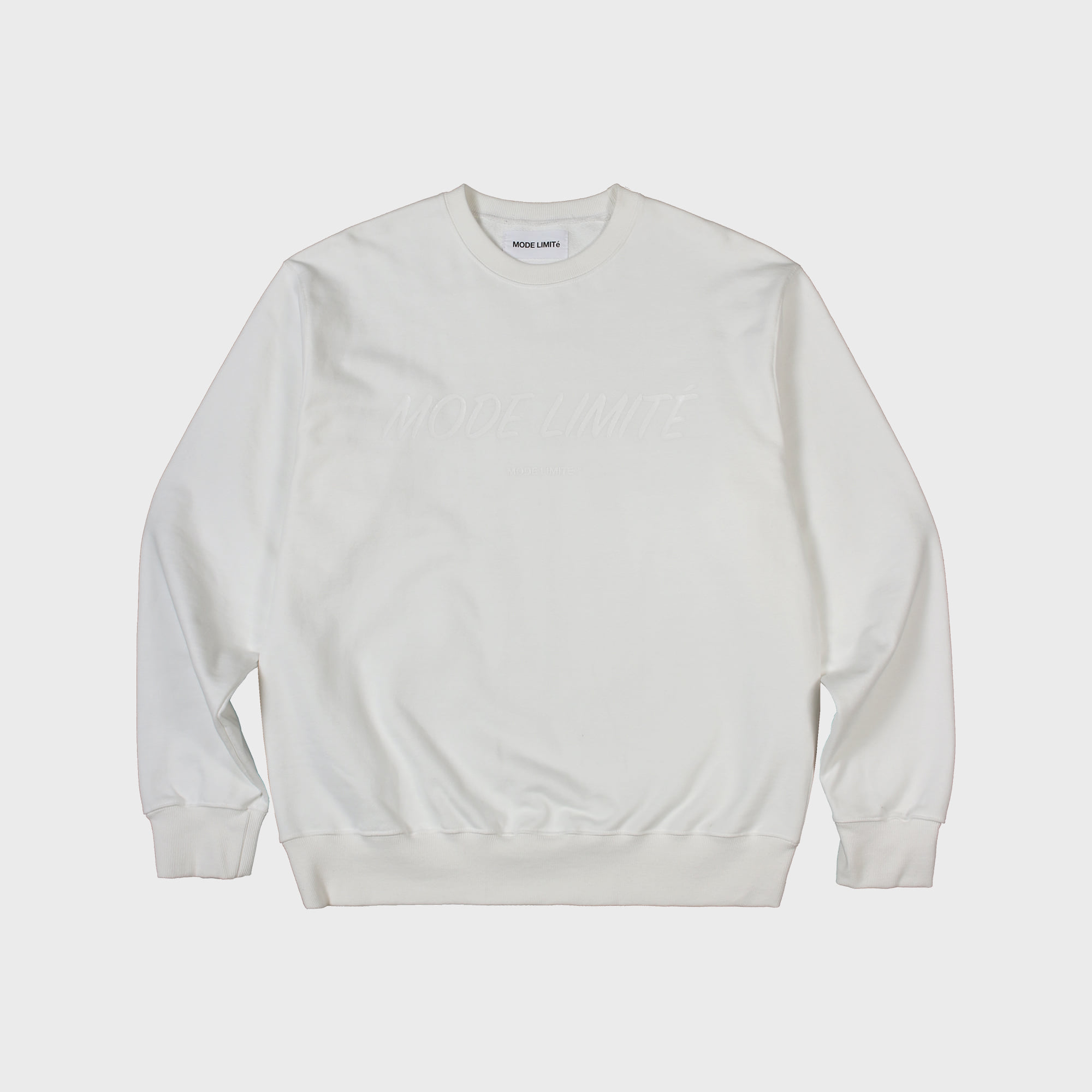 Mode Limite Sweatshirt White